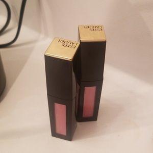 Estee Lauder Lipshine: Diabolic Pink (Two Pack)